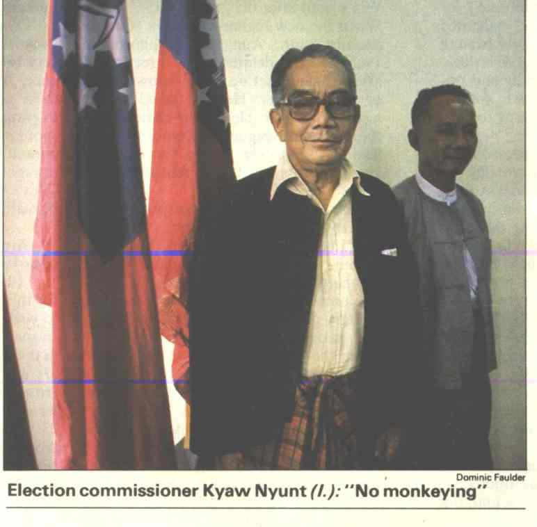 Burma 1990 election commission